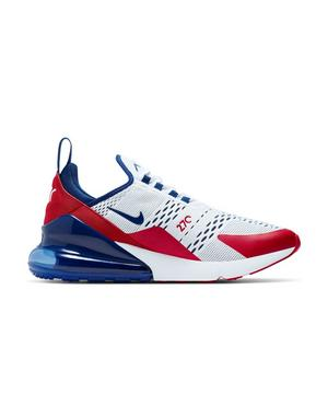Nike Air Max 270 White University Red Deep Royal Men S Shoe