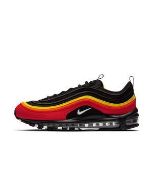 Nike Air Max 97 Black Chili Red Magna Orange Men S Shoe