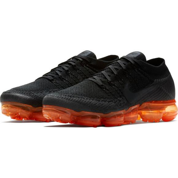 nike vapour max black and orange