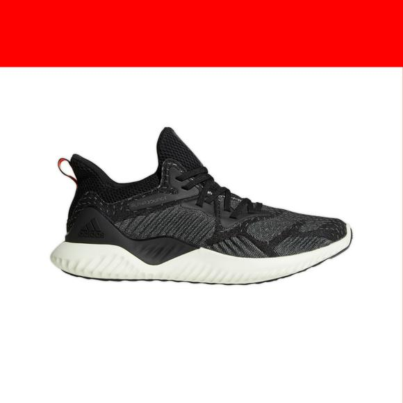 black running shoes adidas