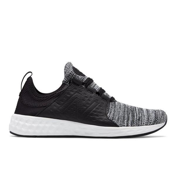 New Balance Kid/'s Fresh Foam Cruz V2 Decon Little Kids Male Shoes Black//Grey