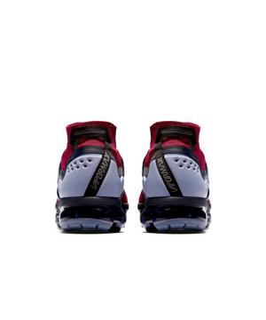 nike air vapormax flyknit utility team red unisex shoe