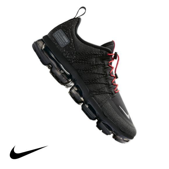 2edba0a86fade ... shopping nike air vapormax run utility black reflective silver mens  shoe main container 11402 2b4fe