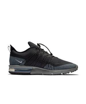 Air Max Sequent 4 Shield (blackmetallic Silverdark Grey) Running Shoes