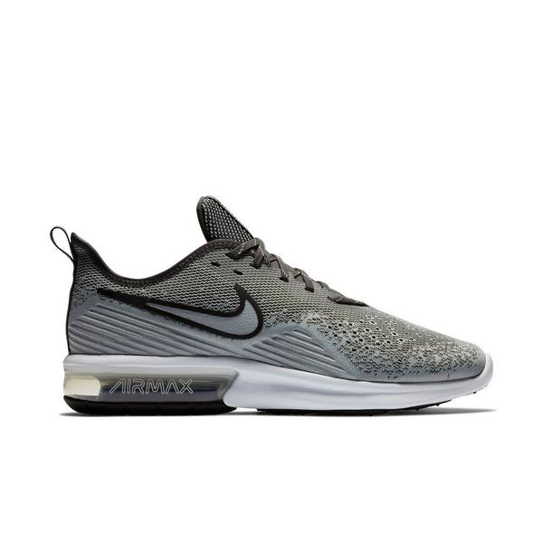 purchase cheap e1706 3ddd8 Display product reviews for Nike Air Max Sequent 4 -Grey Black- Men s  Running
