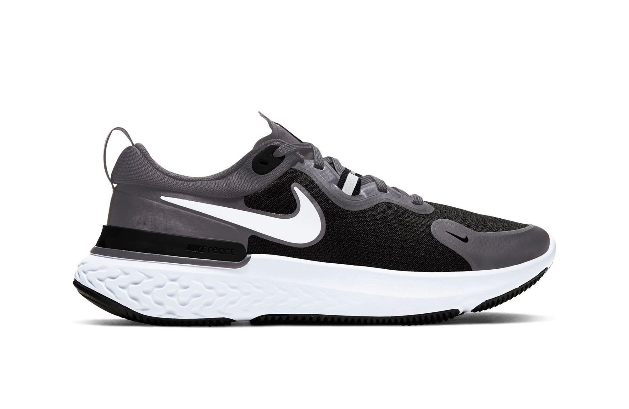 """Nike React Miler """"Dark Grey/White/Black"""" Men's Running Shoe"""