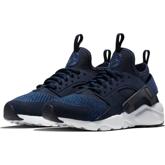 1599a3a112663 ... germany nike air huarache run ultra se navy white grade school boys  casual 04c7e 76ed0