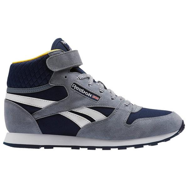 7104fd4210d Display product reviews for Reebok Classic Leather Mid Strap Grade School  Boys  Shoe