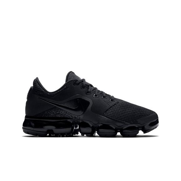 23b6e454306 ... CDG x Nike Air VaporMax Flyknit Triple Black 899473 003 Childrens Boys  Girls Running Shoes Nike Air VaporMax Mesh ...