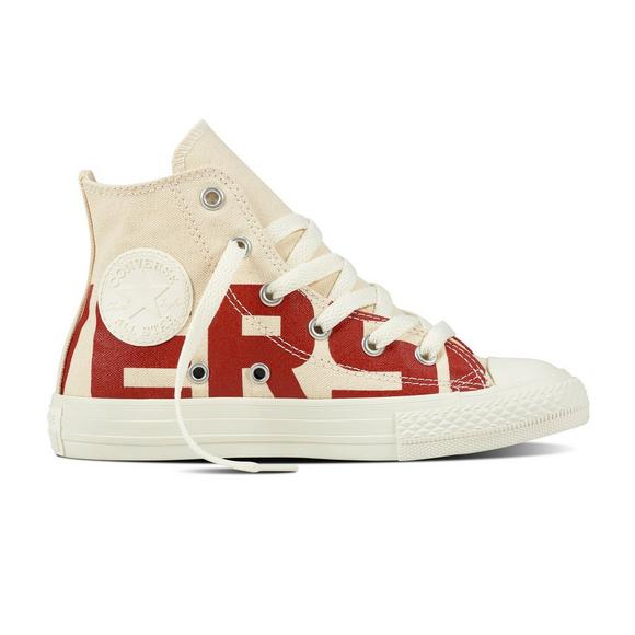 Converse Chuck Taylor All-Star Wordmark High Preschool Kids  Shoe - Main  Container Image f3b16ca35