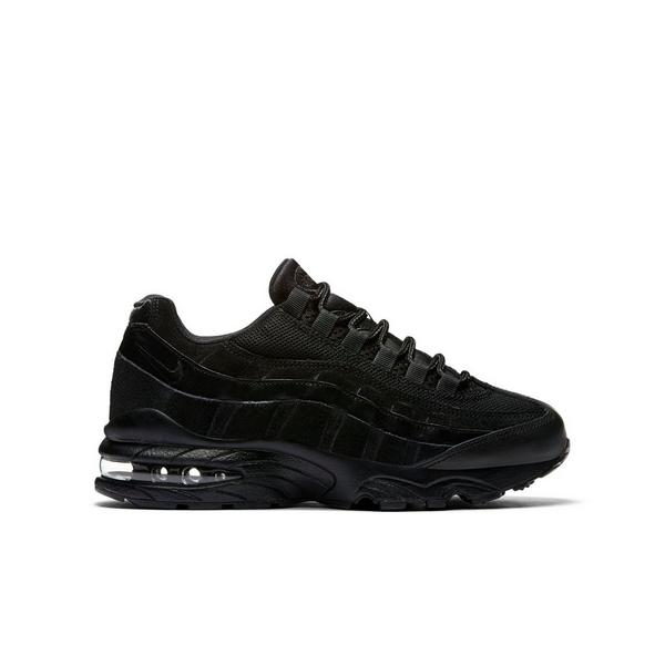 check out 48b7e 58bf4 Display product reviews for Nike Air Max 95 -Black- Grade School Kids  Shoe