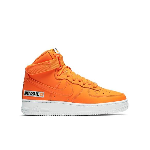 Nike High Shoe Kids' Force 1 Grade Hibbett Orange Air Us Jdi School mnyw8vN0O