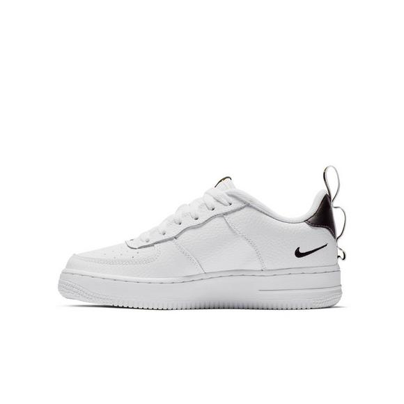 Nike Air Force 1 Utility White (Grade School Juniors)