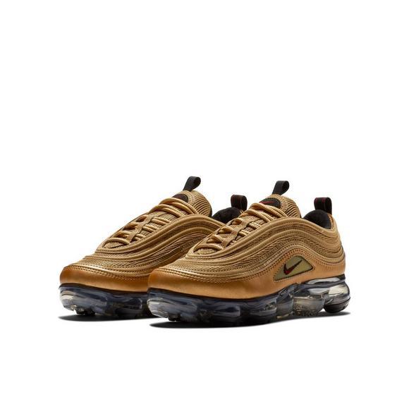 Metallic Kids' 97 Shoe School Gold Nike Grade Air Vapormax fFUxRvq