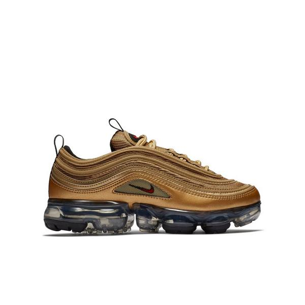sneakers for cheap 5fb57 d3716 Display product reviews for Nike Air VaporMax 97 -Metallic Gold- Grade  School Kids