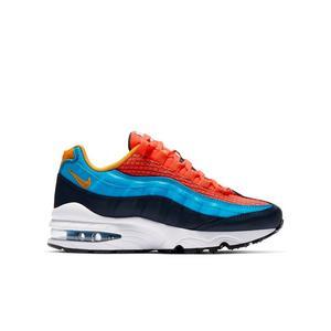 Boys Girls Blue Nike Air Max Shoes