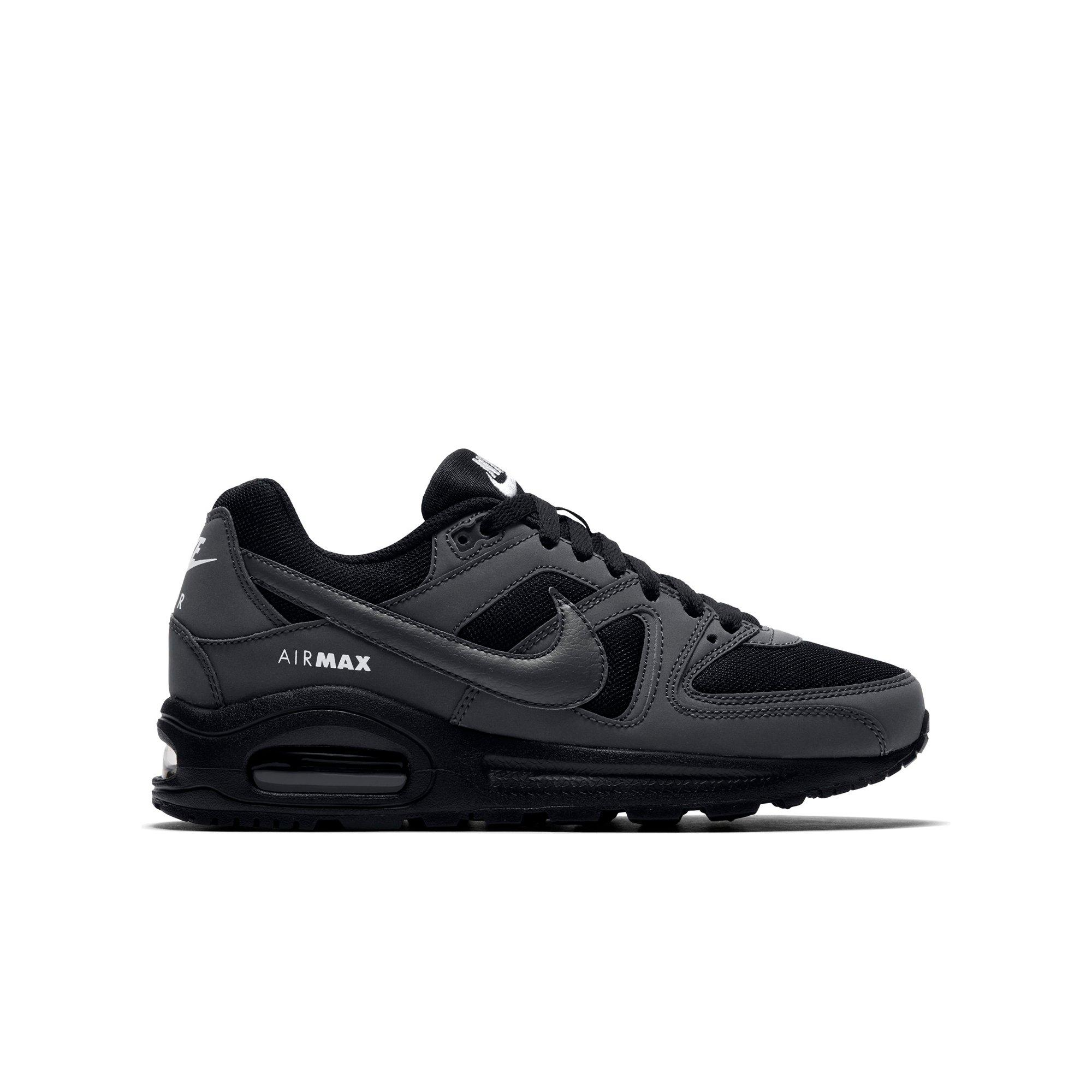 Nike BlackWhite Air Max Command Youth Trainers | Black
