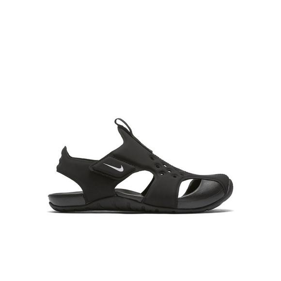 777d56c9d15f ... netherlands nike sunray protect 2 black white preschool kids sandal  main container f17cc ca3a9