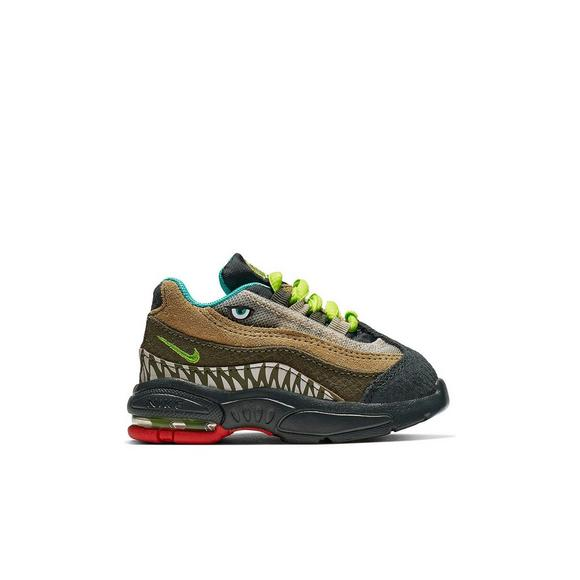 28a636523c Nike Air Max 95 Jurassic Party Infant Boys' Shoe - Main Container Image 2