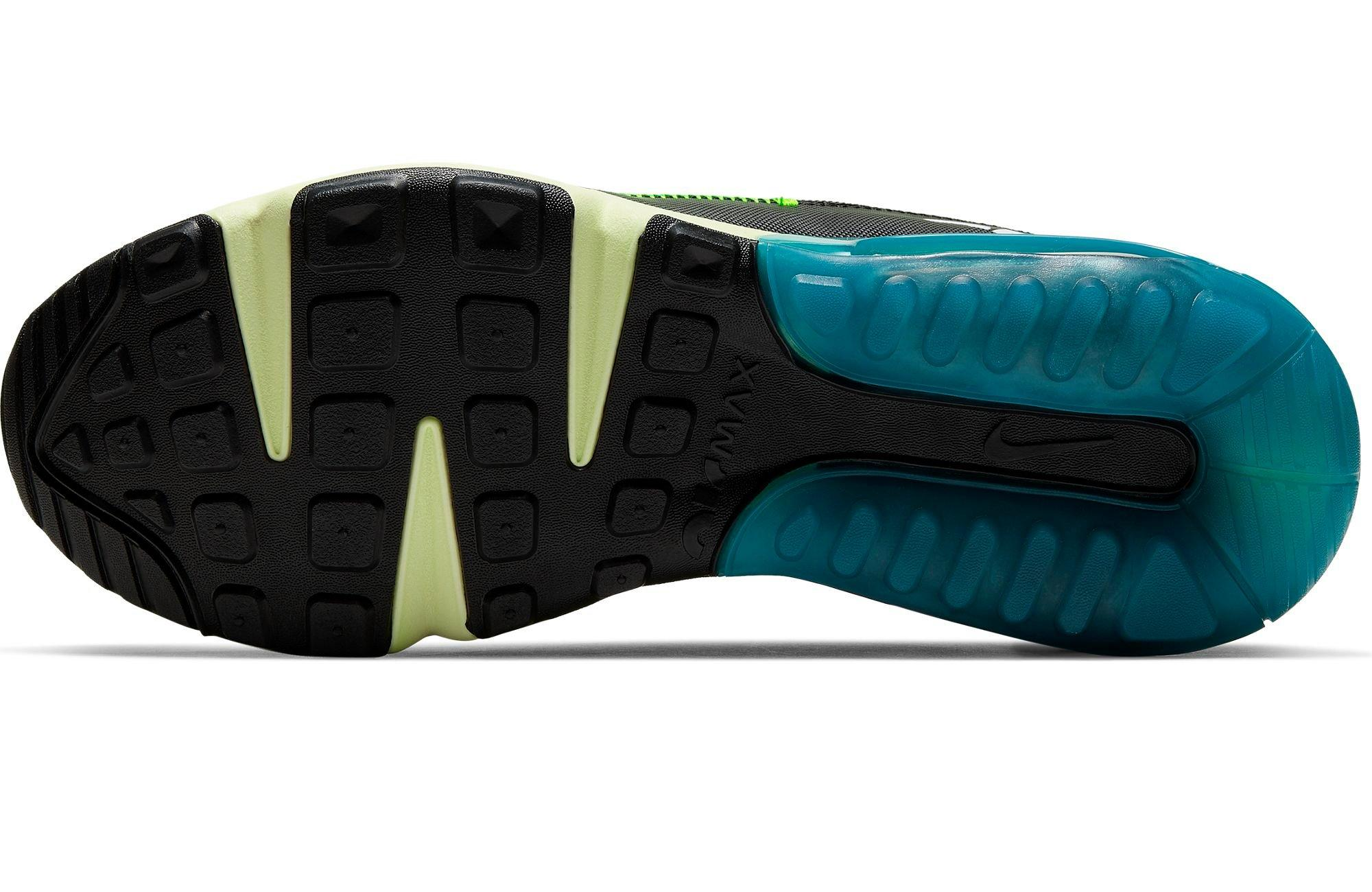 "Nike Air Max 2090 ""White/Black/Volt/Valerian Blue"" Grade School Kids' Shoe"