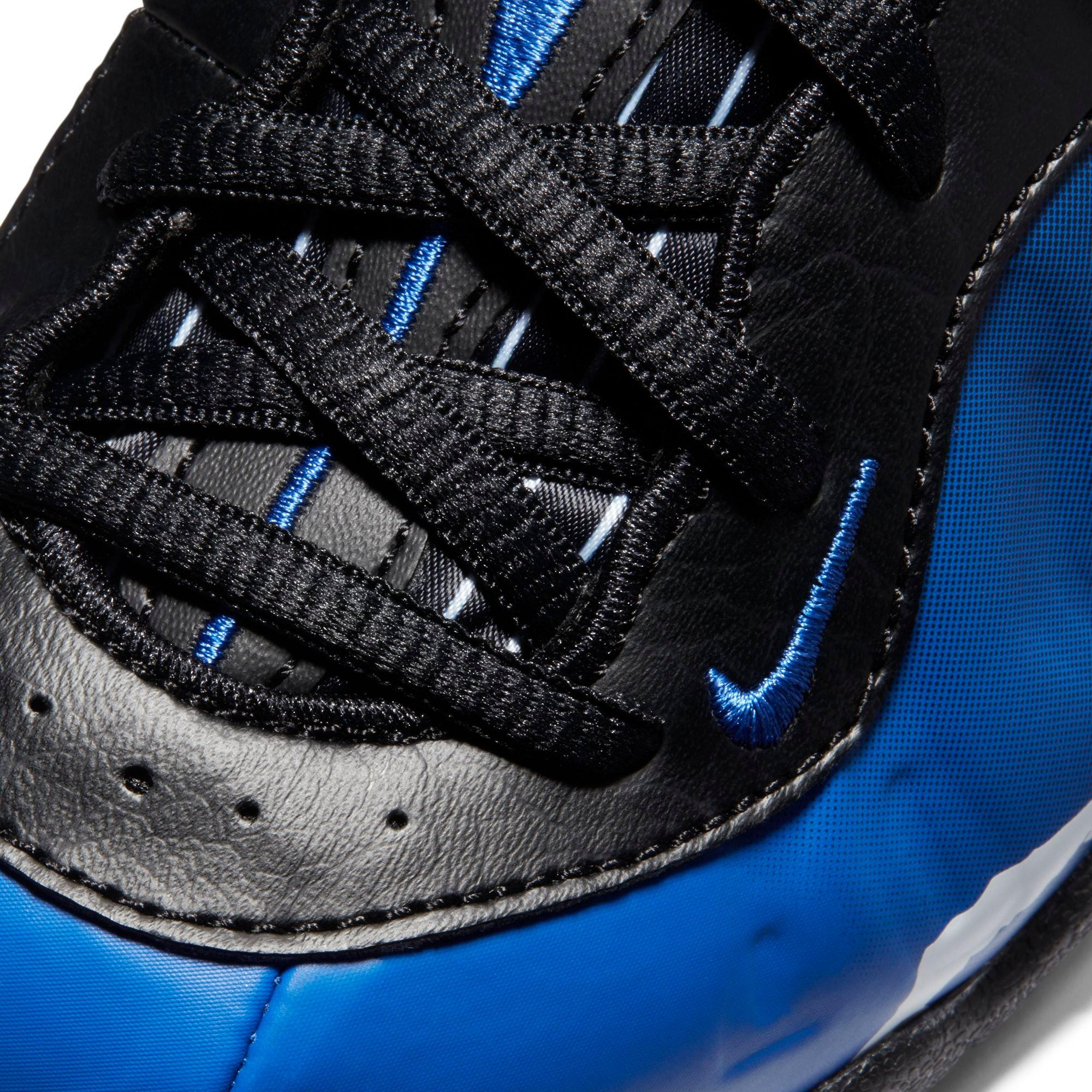 Youth Nike Little Foamposite One Premium Shoes Black ...
