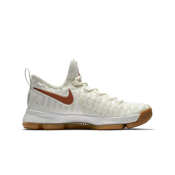 b1f83aaed2a Nike Zoom KD 9 Texas Men s Basketball Shoe - Main Container Image 2