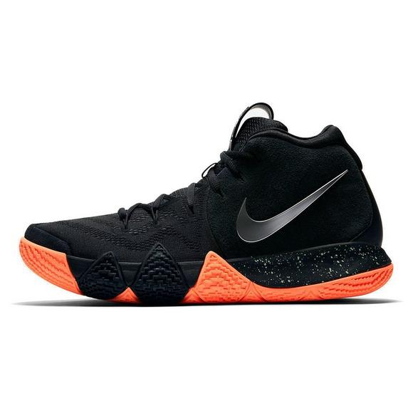 first rate d74df 48a01 ... spain nike kyrie 4 black metallic silver mens basketball shoe main  container image 67326 ce09f
