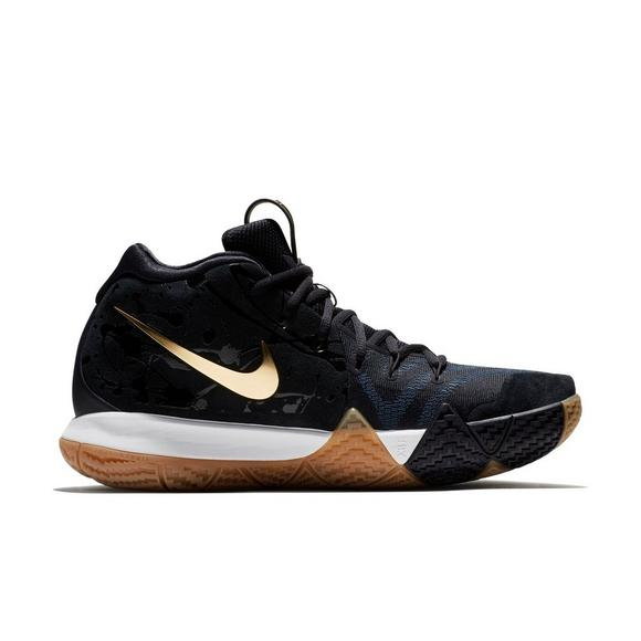 c1ce097476c0 ... australia nike kyrie 4 pitch blue metallic gold mens basketball shoe  main container 7c997 2cde0