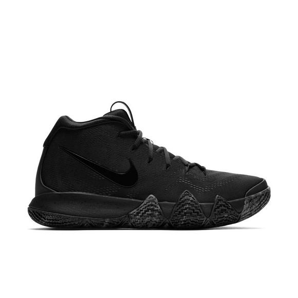 7dfb11c2f8e ... sale nike kyrie 4 black black mens basketball shoe main container 7e7d4  ef219