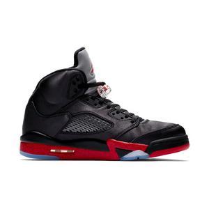 Jordan 5 Retro Black Satin Mens Shoe