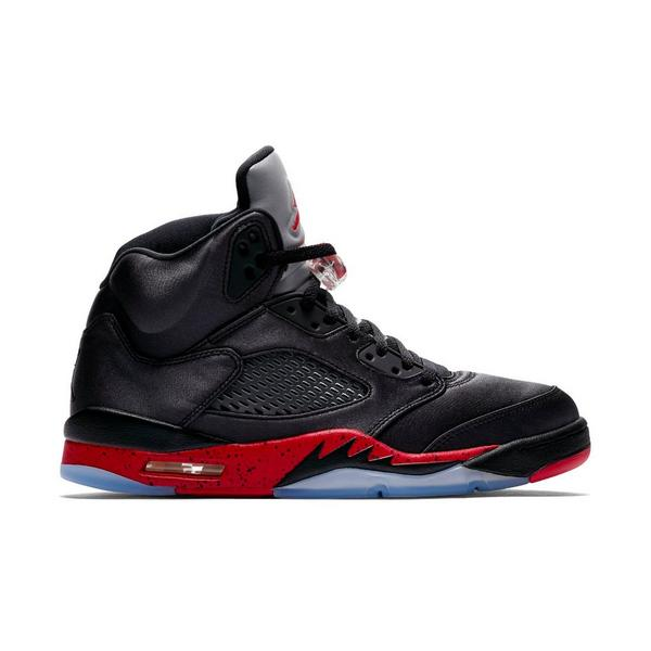 sale retailer 8dfb5 67d93 Display product reviews for Jordan 5 Retro -Black Satin- Men s Shoe
