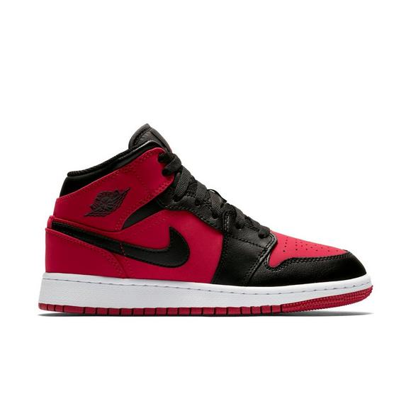 459737b8add ... promo code air jordan 1 mid red black white mens shoe main container  df47a a92cb