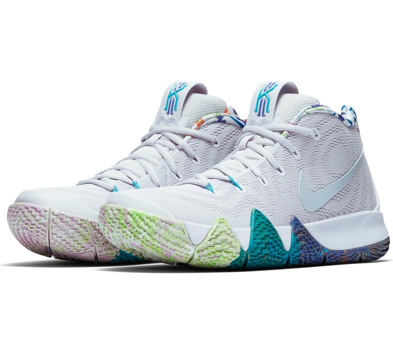 "finest selection 41545 325b8 Sneaker Release: Nike Kyrie 4 ""Multicolor"""