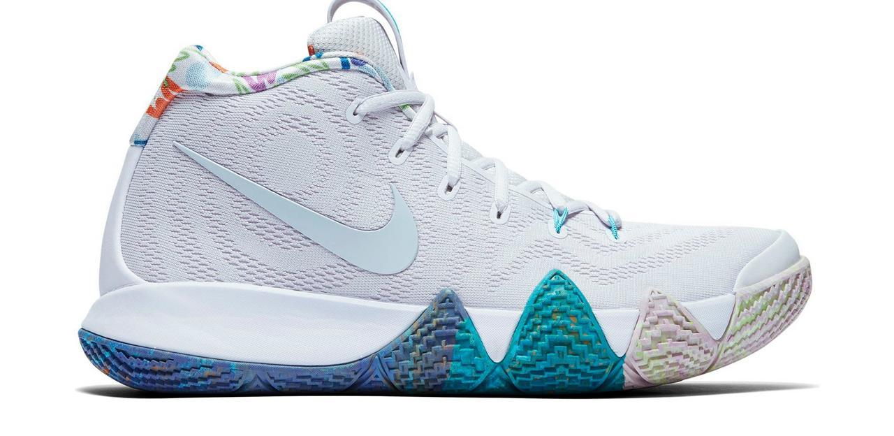 "finest selection 629fe af5f1 Sneaker Release: Nike Kyrie 4 ""Multicolor"""