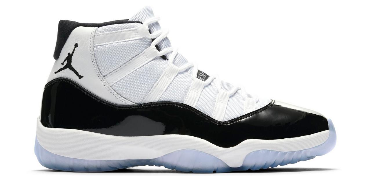 "newest 97a19 441d1 Sneaker Release: Jordan Retro 11 ""Concord"" Basketball Shoe"