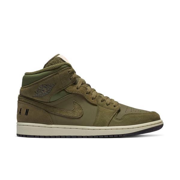 buy popular 19a6f 86d6e Display product reviews for Jordan 1 Mid -Olive Canvas- Men s shoe