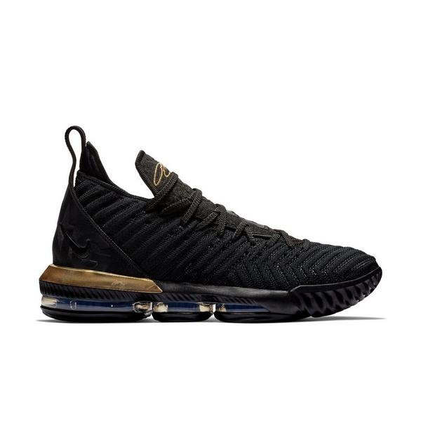 new styles 2be88 64fe1 Display product reviews for Nike LeBron 16 -Black Metallic Gold- Men s  Basketball Shoe