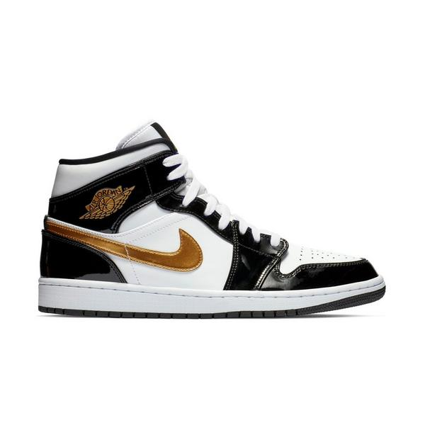 4638edf45b43 Display product reviews for Jordan 1 Mid SE -Black Metallic Gold- Men s Shoe