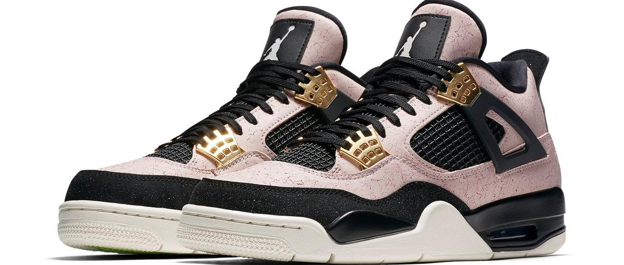 huge discount 111f4 98a19 The Air Jordan 4 Retro Silt Red offers a fresh take on the iconic sneakers.  The Silt Red design comes with a distinct leather upper with light red  streaking ...