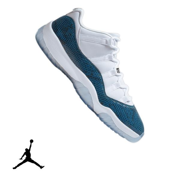 timeless design 8c154 7bda6 Display product reviews for Jordan 11 Retro Low -White Navy Snakeskin- Men s  Shoe