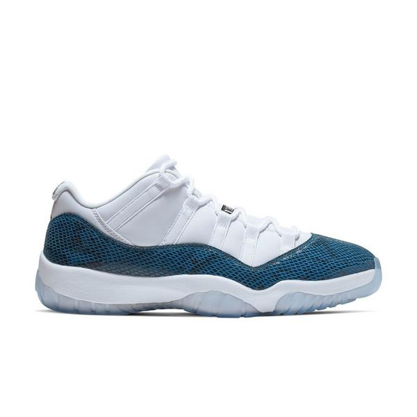 cfcb836a45b Display product reviews for Jordan 11 Retro Low -White/Navy Snakeskin-  Men's Shoe