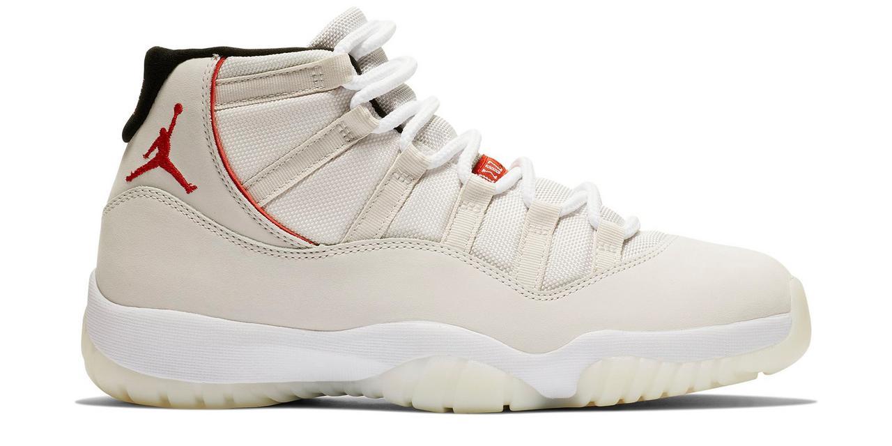 0fb1da10394 ... greece sneaker release air jordan retro 11 platinum and cream 185da  ee7d5