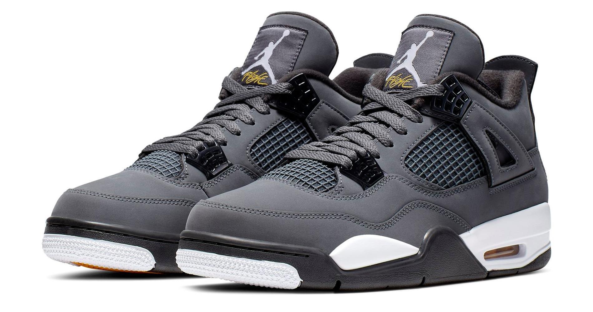 """Sneaker Release: Air Jordan 4 Retro """"Cool Grey"""""""