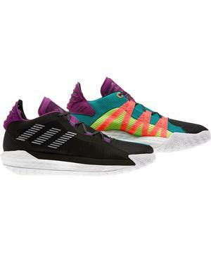 Adidas Dame 6 Core Black Silver Metallic Men S Basketball Shoe Hibbett City Gear