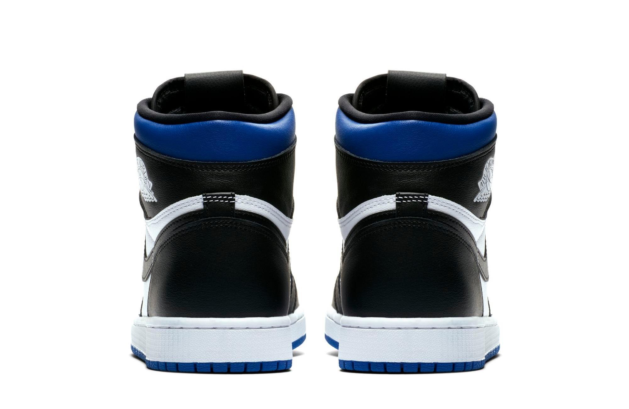 Sneakers Release Jordan 1 Retro High Og Game Royal Black White