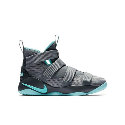 7b7f3a0772d ... best price display product reviews for nike lebron soldier 11 grey aqua  grade school boys 3a688