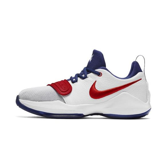 0cf433445a42 ... ireland nike pg 1 white university red preschool boys basketball shoe  main 2272c d38e7