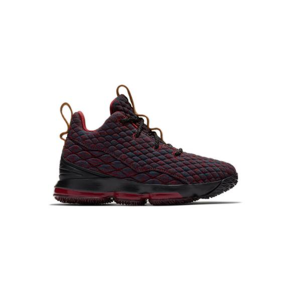 fabc335f155b78 new arrivals nike lebron 15 burgundy preschool boys basketball shoe main  container 3283c d4949