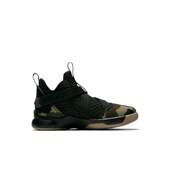 Nike Lebron Soldier 12 Sfg Blackhazel Preschool Boys Basketball