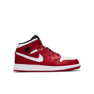 Jordan 1 Mid Grade School Kids' Shoe